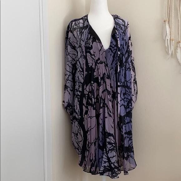 Diane Von Furstenberg Dresses & Skirts - DVF butterfly crepe silk dress
